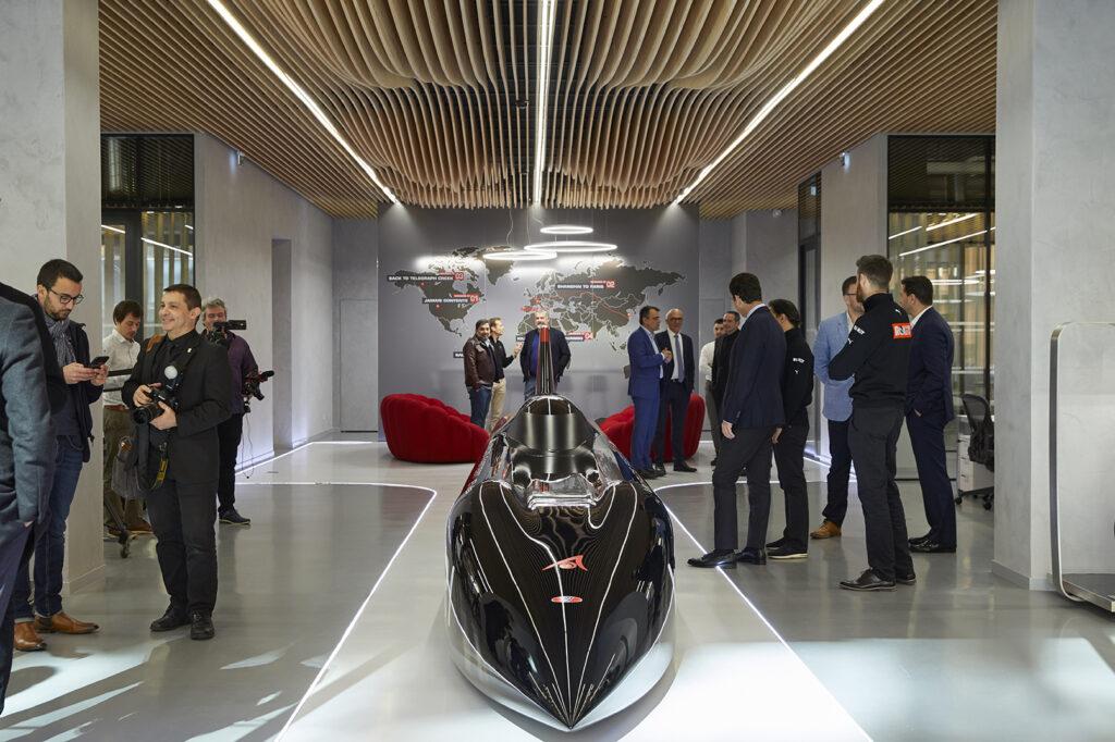 Venturi new trendy office - opening