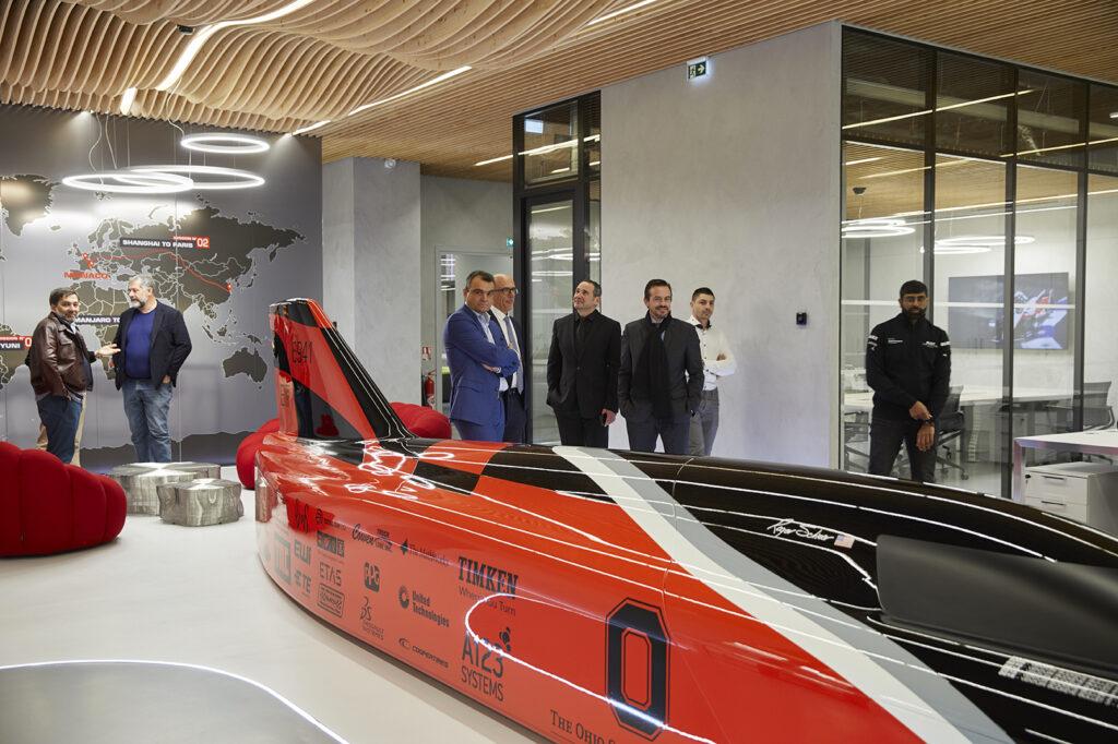 Venturi Automobiles new trendy office