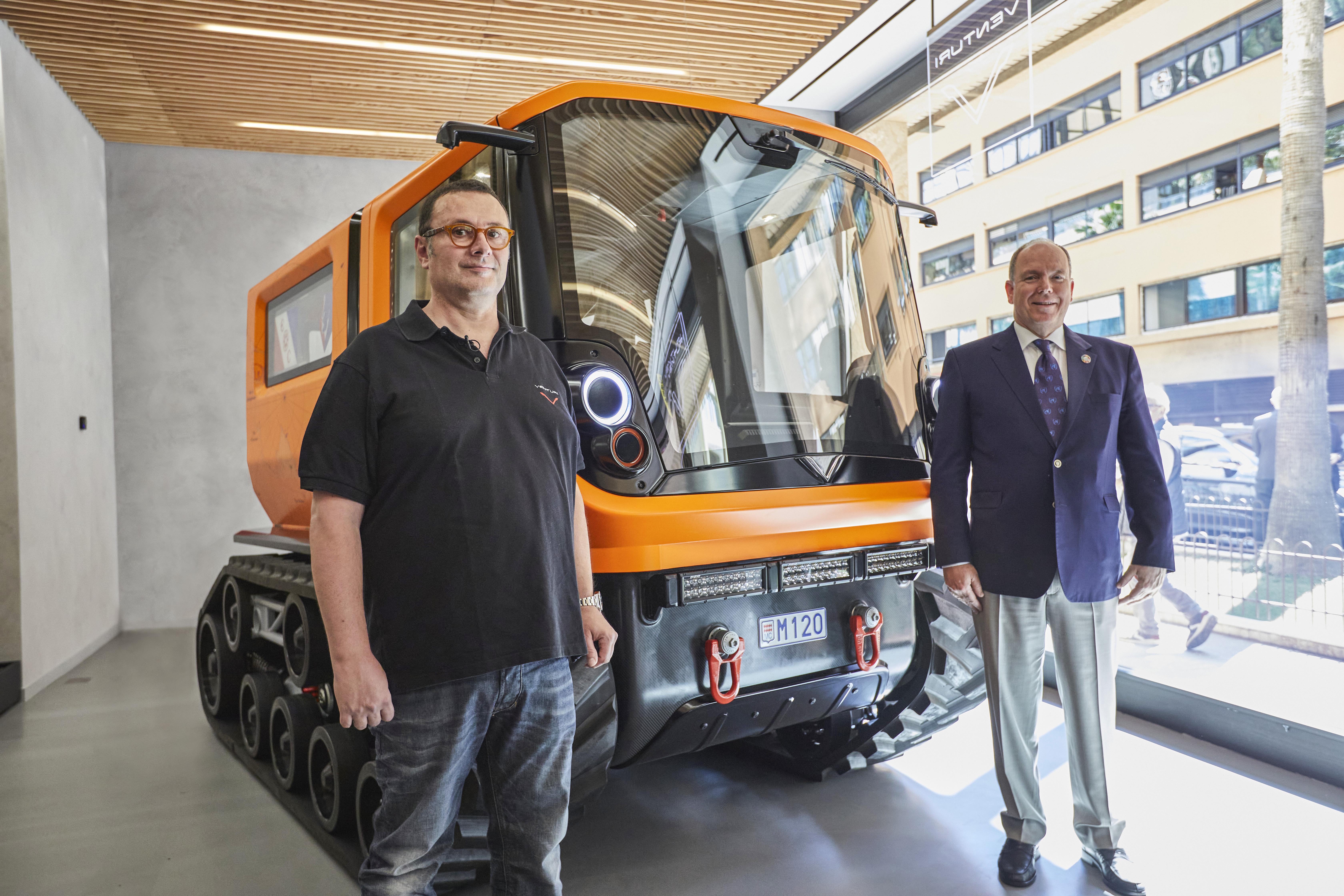 Venturi Antarctica: the first zero emissions polar exploration vehicle
